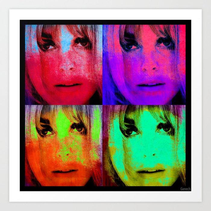 Sharon Tate Art Print