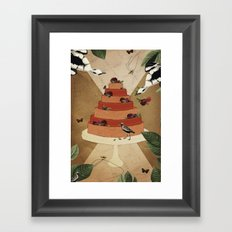 Let Them Eat Cake :: II Framed Art Print