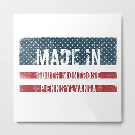 Made in South Montrose, Pennsylvania Metal Print