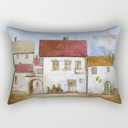 Village Rectangular Pillow