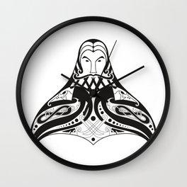 Odin's Hammer Wall Clock