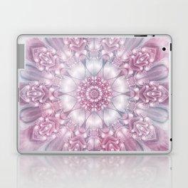 Dreams Mandala in Pink, Grey, Purple and White Laptop & iPad Skin