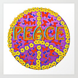 Peace Magic Art Print