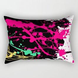Funky splatter Rectangular Pillow