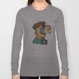 la Pantera Fuerte Long Sleeve T-shirt