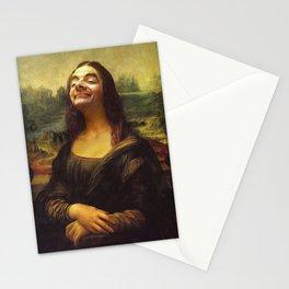 mr bean monnalisa Stationery Cards