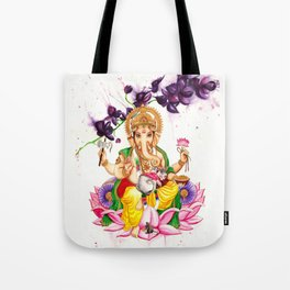 Ganesha and Candy Tote Bag