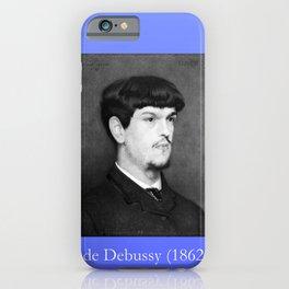 Marcel baschet -Portrait of Debussy iPhone Case