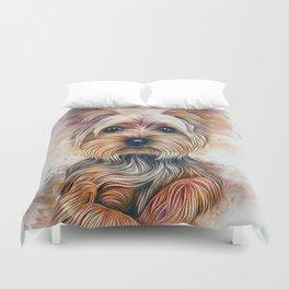Yorkshire Terrier Duvet Cover