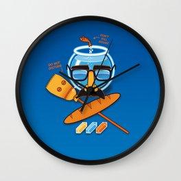 Anti-Mindbenders survival kit Wall Clock