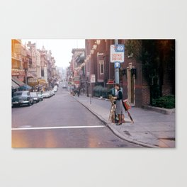 San Francisco's 49 Mile Scenic Drive in 1963 Canvas Print