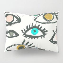 Pop Eyes Pillow Sham