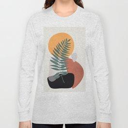 Abstract Shapes No.24 Long Sleeve T-shirt