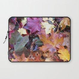 Fallen Fall Leaves Laptop Sleeve