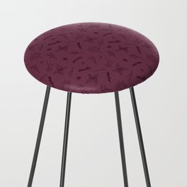 Herbs and Berries Counter Stool
