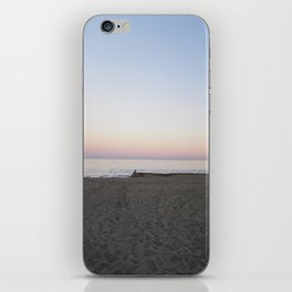 Winter Sunset By The Sea  iPhone Skin