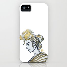 Golden Power iPhone Case