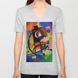 Juggler of colors Unisex V-Neck