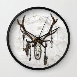 Bestial Crowns: The Elk Wall Clock