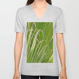 Palm Fan Art Unisex V-Neck