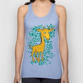 Giraffe Unisex Tank Top