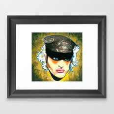Modern Camouflage Framed Art Print