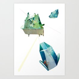 Crystal Planes #3 Art Print