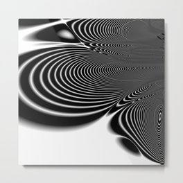 Fractal Abstract 100 Metal Print