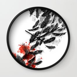 Another Long Fall Wall Clock