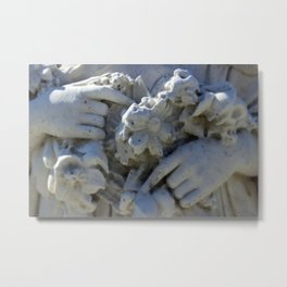 Gentle hands Metal Print