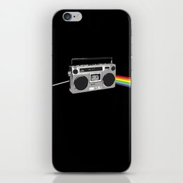 Dark Side of the Boombox iPhone Skin