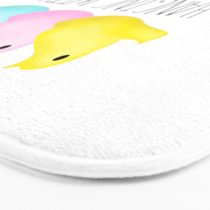 Hanging With My Peeps Bath Mat
