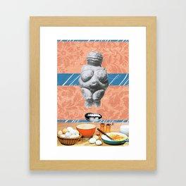 Milk & Eggs Framed Art Print