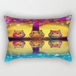 owl-97 Rectangular Pillow