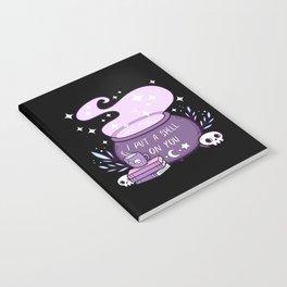 Witch Cauldron Notebook
