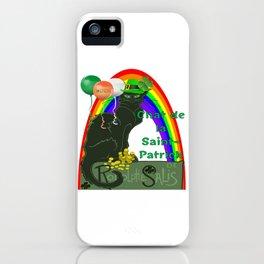 Chat De La St Patrick De Rodolphe Salis iPhone Case