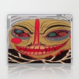 Fancy Man With Onion Bag Collar Laptop & iPad Skin