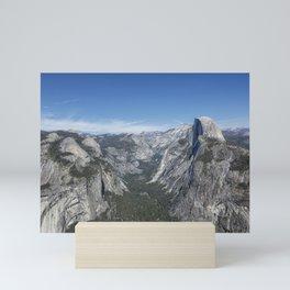 Half Dome from Glacier Point Mini Art Print