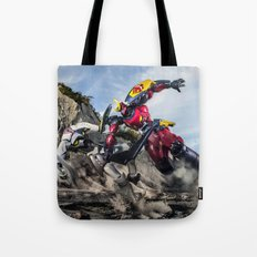 gurren battle Tote Bag