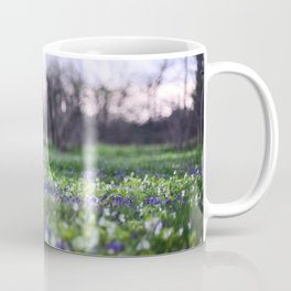 Late Winter Blooms Coffee Mug