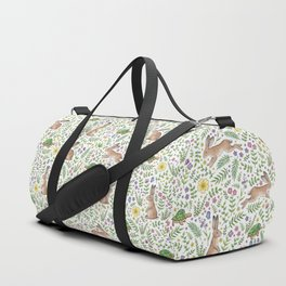 Spring Time Tortoises and Hares Duffle Bag