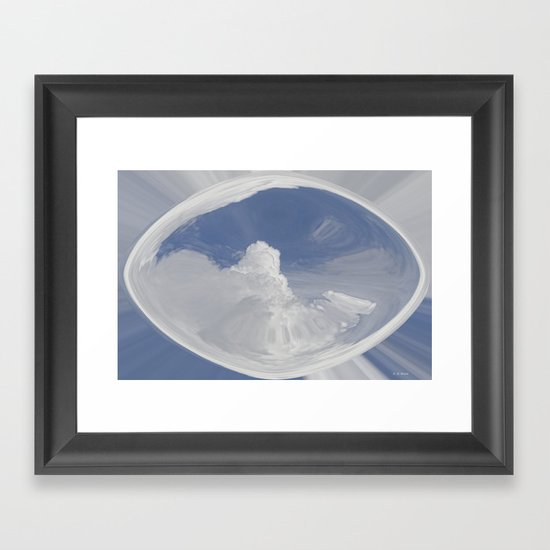 Cloud Art Framed Art Print