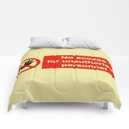 No Access Comforters