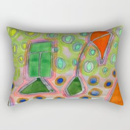 Colorful Kites Rectangular Pillow