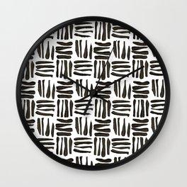 Banana Basket Wall Clock