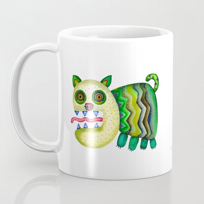Screaming Kitty Coffee Mug