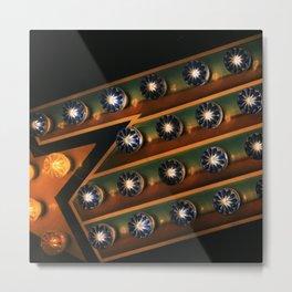 midway lights Metal Print