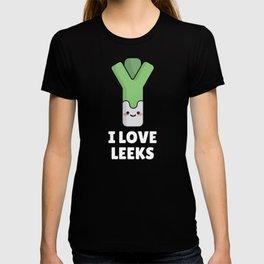 I Love Leeks T-shirt