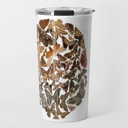 Moth circle Travel Mug
