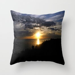 Port Phillip Bay Throw Pillow